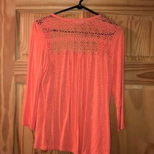 Maurice's Coral Top